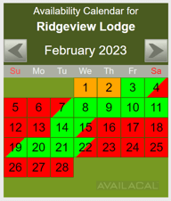 square corners availability calendar