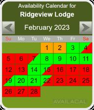 round corners availability calendar