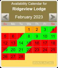 availability calendar gold