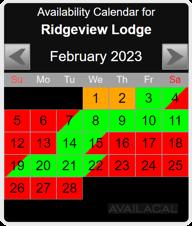black availability calendar